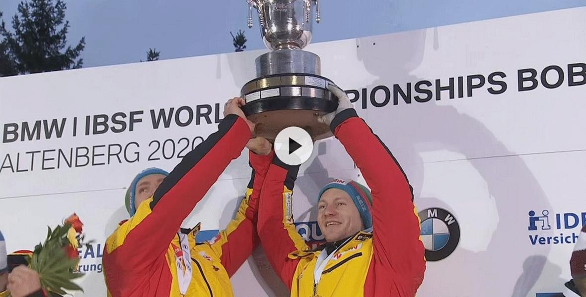 Bob-WM in Altenberg: <br/>Francesco Friedrich erneut Weltmeister