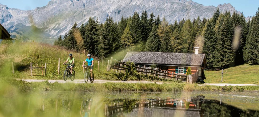 Freiheit pur:<br/> (E-)Bike & Hike im Montafon