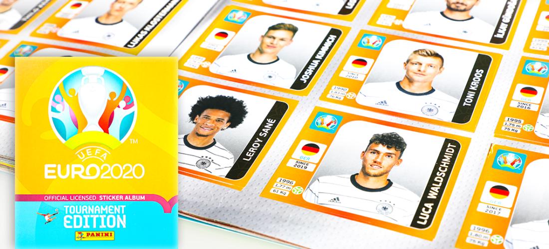 Endlich wieder Sammelfieber: <br/>Die offizielle UEFA Euro 2020™ Tournament Edition Stickerkollektion von Panini