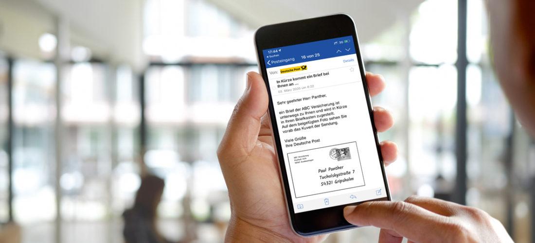 Deutsche Post, GMX und WEB.DE starten Briefankündigung