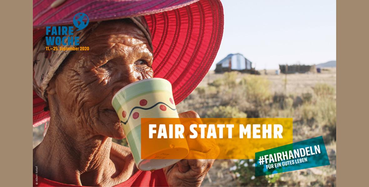 Faire Woche 2020: #fairhandeln für ein gutes Leben