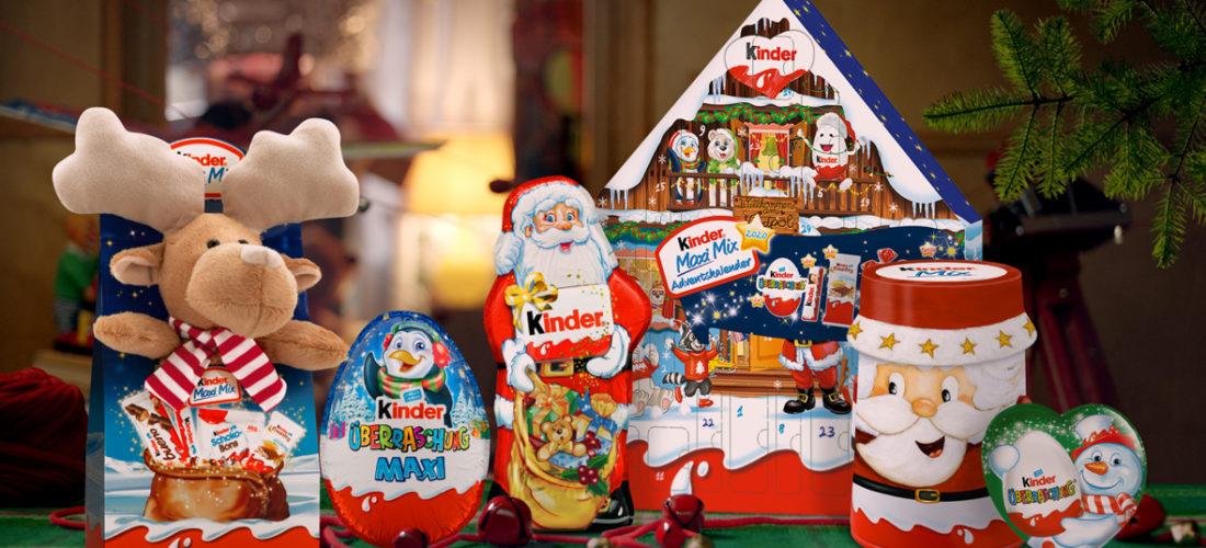 Weihnachts-Gewinnspiel mit kinder von Ferrero