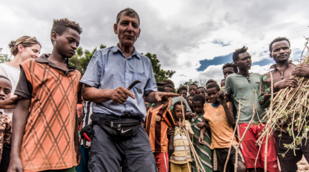 Weltumwelttag am 5. Juni: <br/> Spende lässt Hoffnung keimen