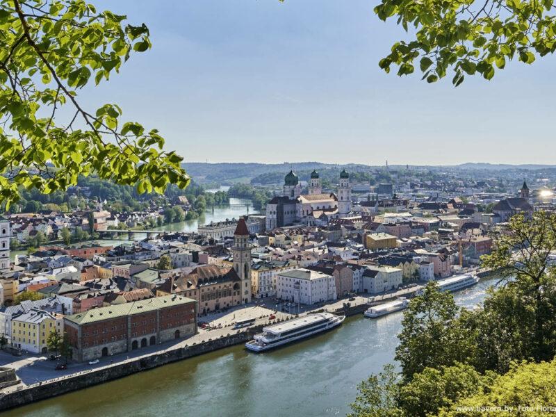 In Passau Kultur und Natur genießen